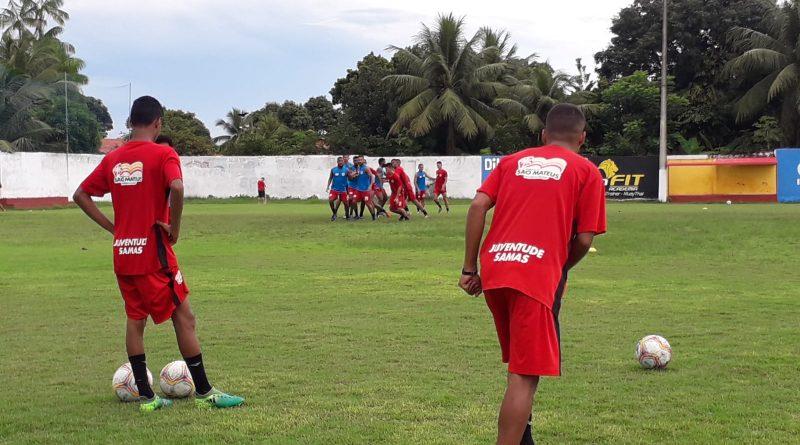 MARANHENSE 2020:  Marlon Cutrim comanda trabalho tático no Pinheirão