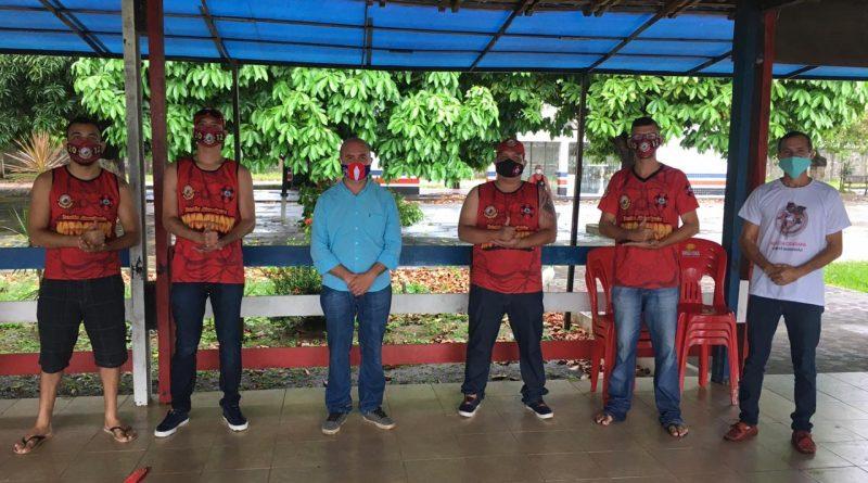 MAC e Ong Ação da Cidadania entregam cestas básicas, kits de higiene e máscaras de proteção para categorias de base
