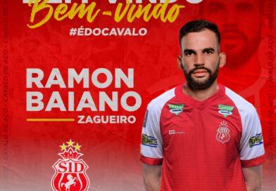 Zagueiro Ramon Baiano está de volta ao Imperatriz