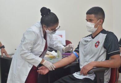 Jogadores do Moto Club realizam exames em clinica na capital Maranhense
