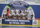 Prefeito Raimundo Coquinho participa da abertura do Campeonato Municipal de Futsal de Davinópolis-MA
