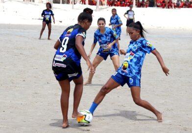 Cruzeiro goleia e avança às semis do Fut7 Beach Feminino