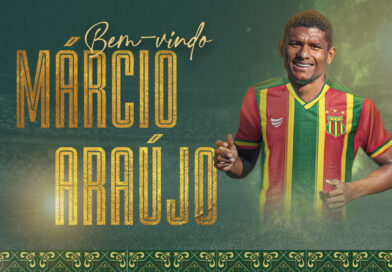Série B:Sampaio Corrêa anuncia a contratação do volante Márcio Araújo